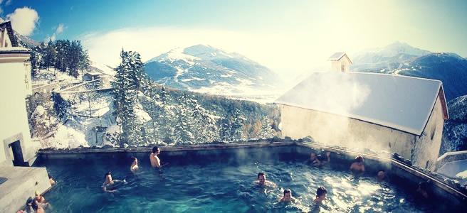 Relaxen in de thermale baden van Bormio