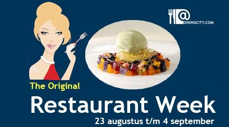 Restaurantweek najaar 2013