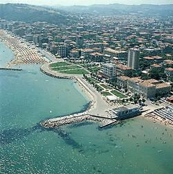 Strandleven in Pesaro
