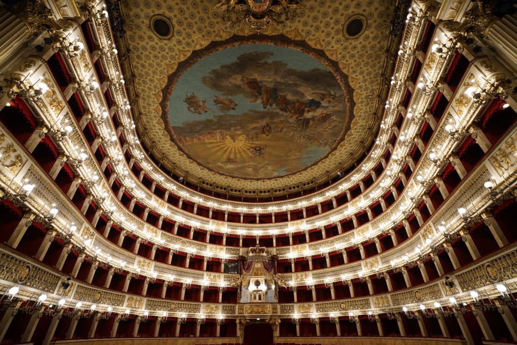 Teatro San Carlo in Napels