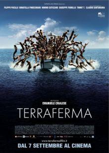 Filmposter van de Italiaanse film Terraferma