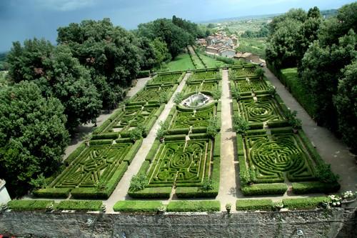 Tuinen van Castello Ruspoli di Vignanello