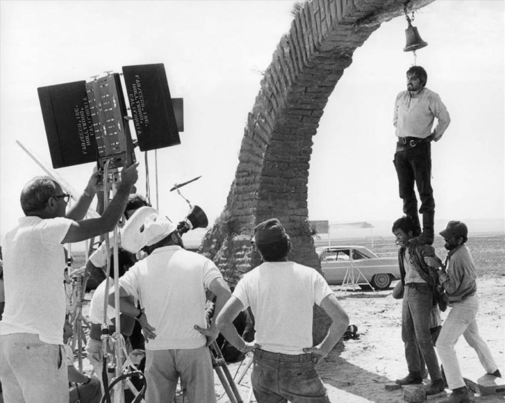 Veel beroemde {spaghetti) western werden opgenomen in Cinecitta KOMMA zoals Sergio Leone's Once upon a time in the west uit 1968
