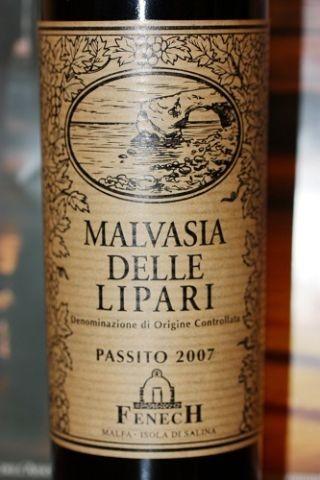 Vulkaangrond geeft een bijzonder wijn. Zoals bijvorbeeld de Malvasia delle Lipari die eigenlijk van Salina komt