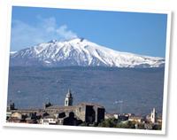 Slapen aan de voet van de Etna
