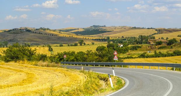 Een autorondreis in Toscane