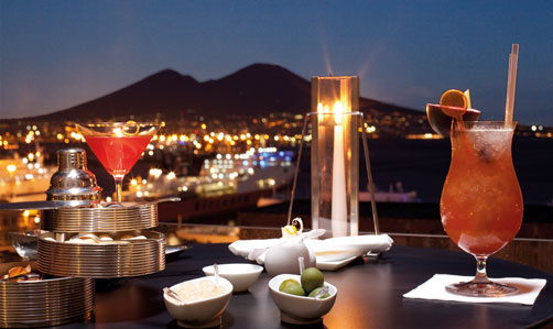 Beluga Skybar, restaurant Romeo.