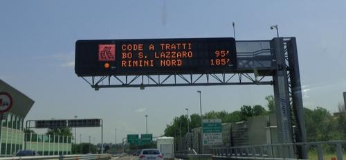 borden italiaanse snelweg 3