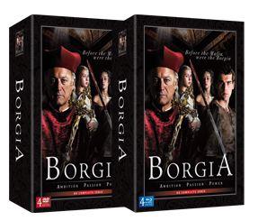 Borgia DVD box