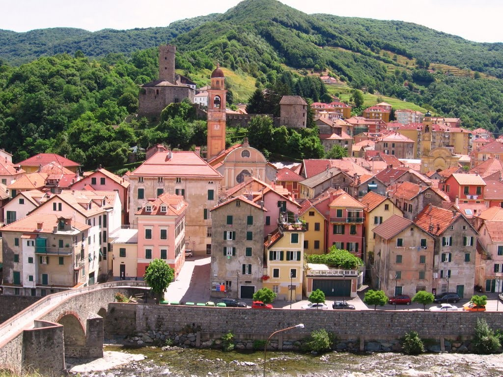 Een juweeltje, Campo-ligure in Ligurië