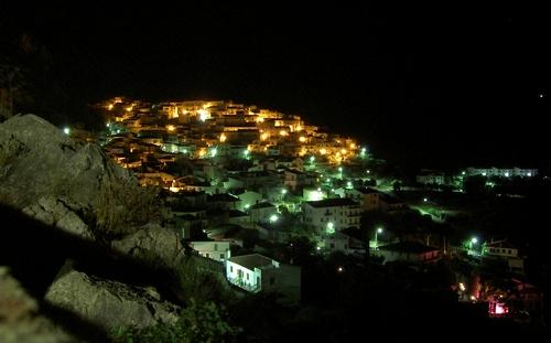 Het Adelaarsnest Civita by night