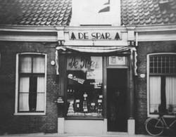 De eerste Spar winkel