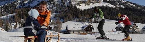 familie sud tirol italie skien val gardena-selva