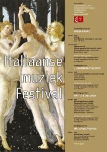 festival Italiaanse muziek in de Oude Kerk in Amsterdam