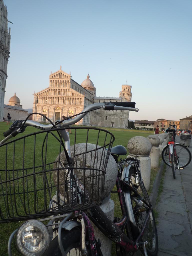 Fietsen in Pisa