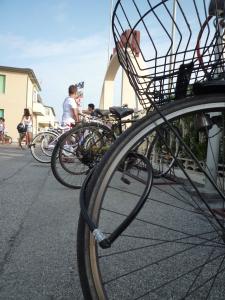 Een fiets in Viareggio