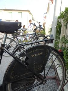 Hollandse fiets in Italie