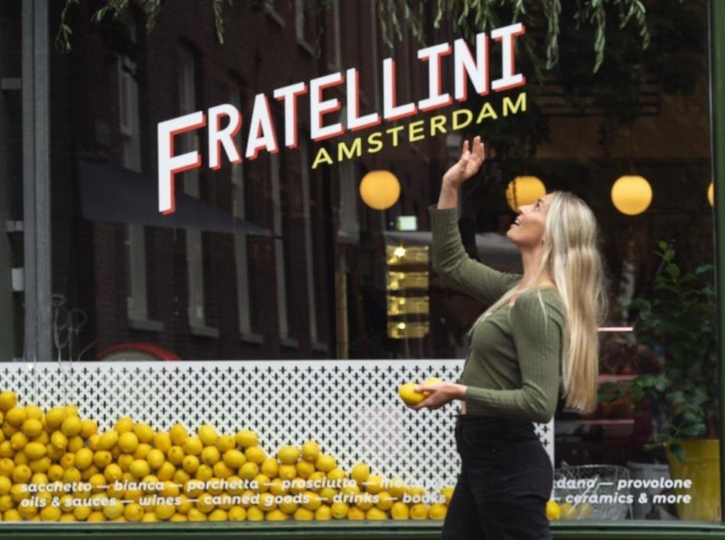 fratellini-winkel amsterdam. Foto: Sigrid Keidel