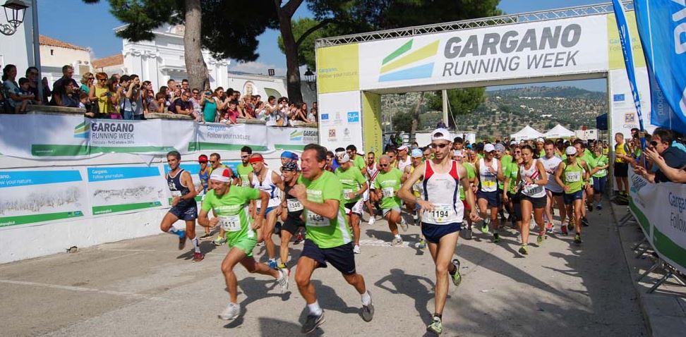 gargano running week hardlopen italie