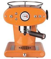 illy espressomachine oranje x1