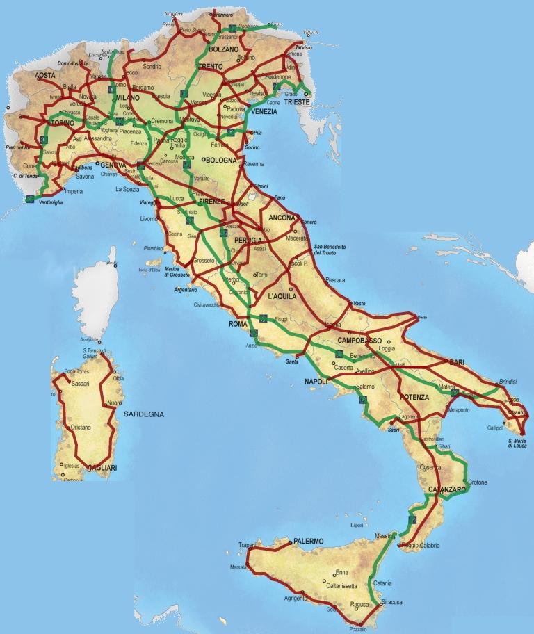 kaart-fietspaden-routes-italie