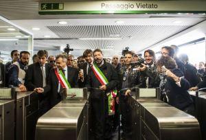 metro lijn c rome geopend