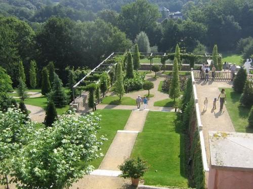 De Italiaanse tuin van Mondo Verde