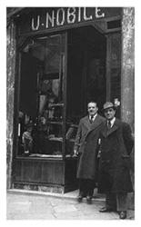 De winkel van Umberto Nobile