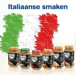 Italiaanse babyvoeding van Olvarit