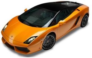 Oranje Lamborghini gallardo