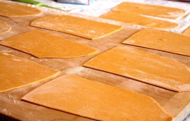 oranje pasta