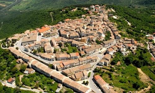 Oratino in Molise, de kleinste regio van Italië