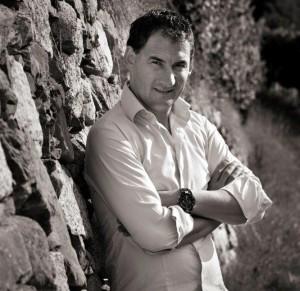Peter maakt uitstekende wijn in het noorden van Italie
