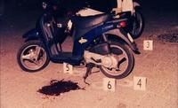Politiefoto uit Scena del crimine