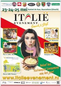 poster italie evenement