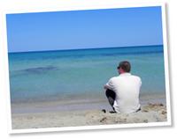 Het heel strand voor jezelf
