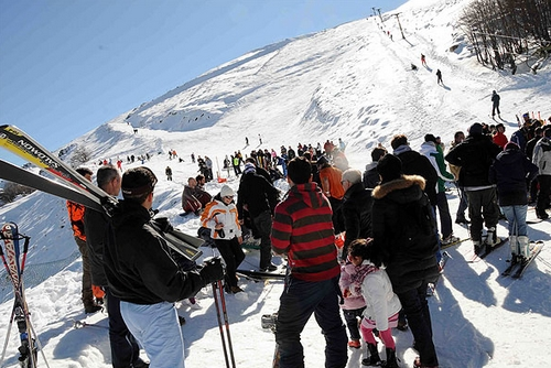 Skien op Sardinie