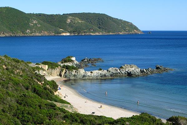 Het strand van Laconella