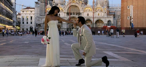 trouwen in venetie