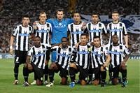 Het elftal van Udinese, de bekende voetbalclub uit Udine