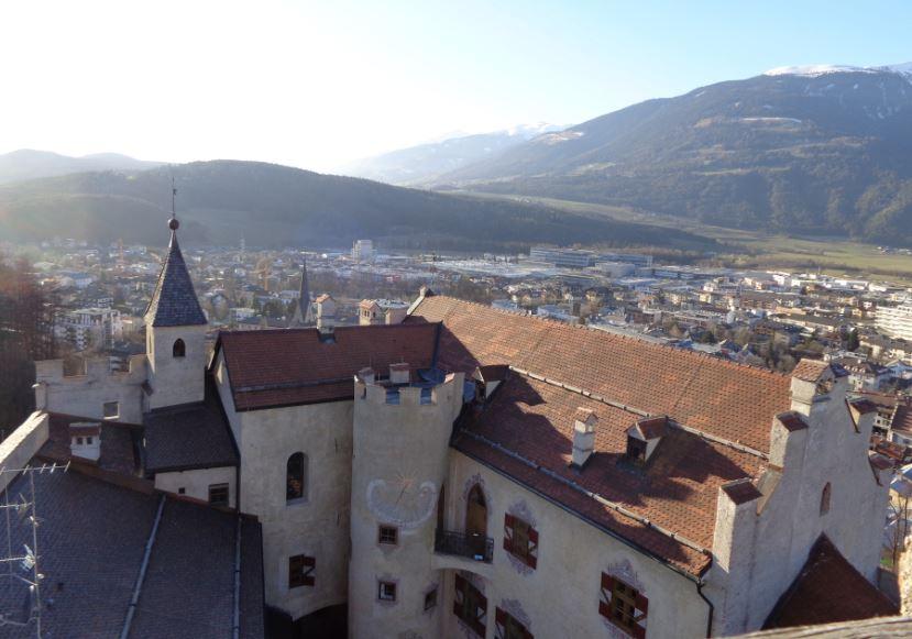 uitzicht slot Bruneck