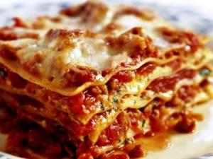 Vincisgrassi; stevige Lasagne