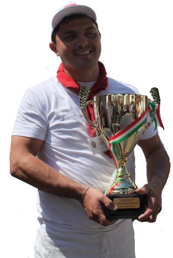 De winnaar: Cuciniello van Mangiassai